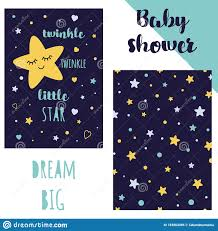 Stars Invitation Template Baby Shower Invitation Template Backgtround With Stars
