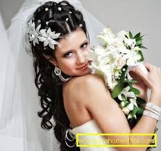 Svatební účes Pro Dlouhé Vlasy Se Závojem ženský časopis