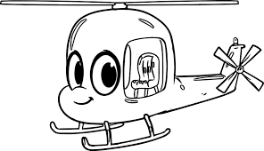 Small Picture Morphle Cartoon My Cute Helicopter Coloring Page Wecoloringpage