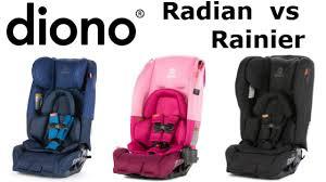 Diono Radian Vs Rainier Which Model Is Best Kid Sitting