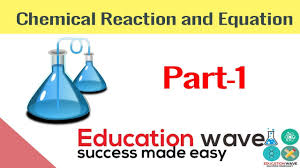 chemistry chemical reaction and equation class 10 in hindi part 1