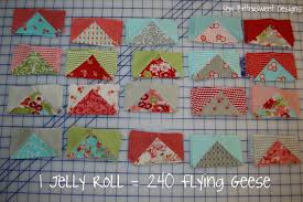 Jelly Roll Flying Geese | Sew BitterSweet Designs & When Fat Quarter Shop sent me a Jelly Roll of Ruby by Bonnie & Camille – I  just sat and stared at it for a day or so, I truly didn't know ... Adamdwight.com