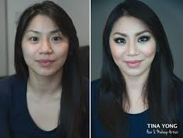 makeup and hair by tina yong before after template