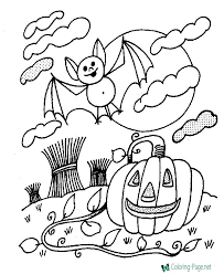 Small Picture Halloween Coloring Pages Free Online Page Smart Living vonsurroquen