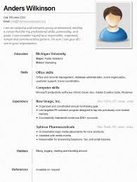 Simple Resume Sample For Job. Download Sample Of Simple Resume ...