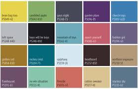 Para Paint Colour Chart Color Company Whats Hot Colour Trends Interior