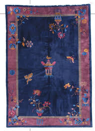 7437 antique art deco chinese rug 5 10 x 8 5