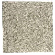 marilyn tweed moss 10 ft x 10 ft square braided rug