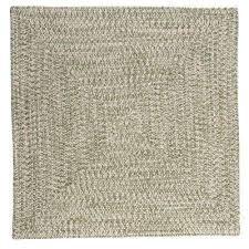 square braided rug