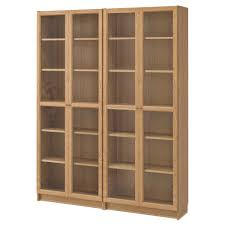Glass shelves bookcase Cabinet Ikea Billyoxberg Bookcase Adjustable Shelves Adapt Space Between Shelves According To Your Needs Ikea Bookcases White Bookcases Ikea