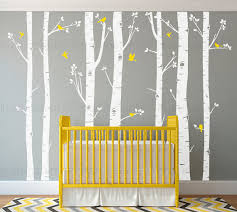 birch tree wall decals seven birch trees with flying birds baby nursery children s room interior designs easy application 009 on birch tree branch wall art with birch tree wall decals seven birch trees with flying birds baby