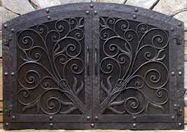 iron fireplace screens. Attractive Iron Fireplace Screens With Plain Art Screen R Design