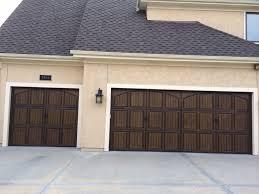 coastal garage doorsDecorative Garage Door Hardware with Coastal Bronze Hardware installed