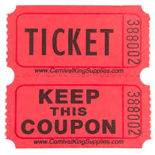 images of raffle tickets carnival king 2 part raffle tickets 2000 roll