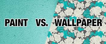 Paint or Wallpaper: Choosing the Right One #infographic