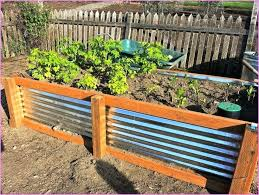 colorbond raised garden beds stratco corrugated metal