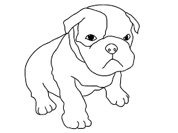 Baby Boxer Dog Coloring Pages Best Place To Color