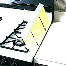 stove countertop gap filler fill gap between range and post range counter gap filler slide