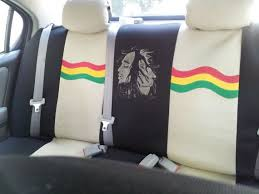 bob marley crazy car seat covers more