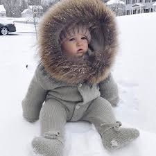 new baby cute coat baby winter clothes hooded infant jacket girl boy warm coat kids baby
