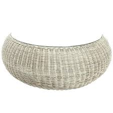 round woven coffee table wicker patio end tables round woven coffee table rattan ottoman woven coffee