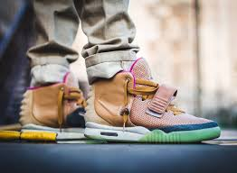 nike yeezy 2. it\u0027s not often you see a customized pair of the air yeezy 2, so when one does come across, worth taking notice. this latest sneaker custom adopts nike 2