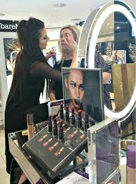 makeup demonstrations at debenhams foyleside derry beauty hall irish the style guide