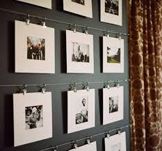 Decorating: Wooden Diy Display Family Photos Wall - Display Family Photos