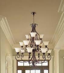stunning bronze chandeliers bronze chandelier iron chandelier with 15 light white roof