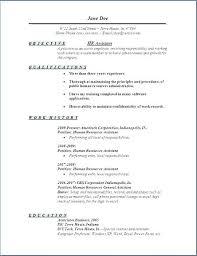 Resume Profile Samples Best 9316 General Objective For A Resume Hr Resume Objective Resume Profile