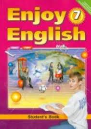 ГДЗ по английскому языку класс Биболетова Английский язык 7 класс enjoy english 7 Учебник student s book ФГОС Биболетова