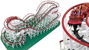 forget magnets this working 1 48 scale wooden roller coaster is the ultimate desk toy