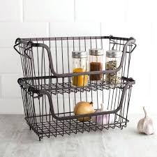 large size of wall basket storage wire with rod dollar tree diy shelves wire basket