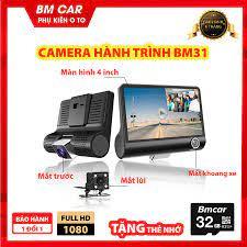Camera hành trình ô tô 3 mắt x005, màn hình 4 inch full hd 1080, camera sau  chống nước, góc quay siêu rộng 170 độ, camera hanh trinh, cam hành trình  oto,