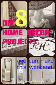 8 diy home decor projects you can make this weekend