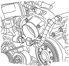 Graphic engine wiring harness to throttle position sensor