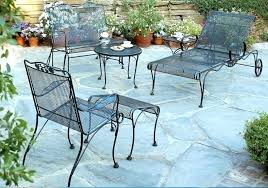 painting wrought iron patio furniture outdoor vintage antique cast lawn garden cape town for outd