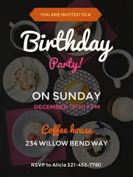 Birthday Party Invitation Make Your Own Party Invitations For Free Adobe Spark