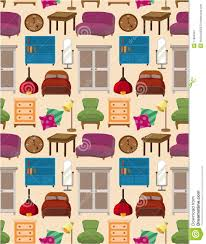patterns furniture. Seamless Furniture Pattern Stock Vector. Illustration Of Cabinet - 17864907 Patterns