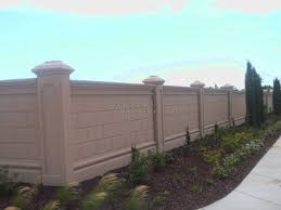 Small Picture Modern Fence Wall Designs Also Privacy Fencing Concrete Walls With