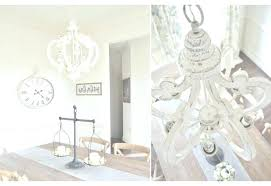 distressed white wood chandelier have to do with french shabby