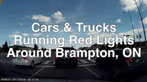 Brampton Red Light Cameras Running Red Lights In Brampton