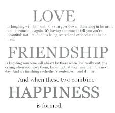 Love And Friendship Quotes Unique Love Is Friendship Quotes As Well As Quotes About Love And