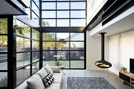 the void is pivotal to the design bringing together the upstairs and the downstairs and adding drama as you walk from the traditional edwardian front of