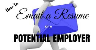 how do you email a resumes how to email a resume to a potential employer best guide wisestep