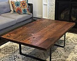 Reclaimed wood furniture etsy Pipe Reclaimed Wood Coffee Table Handmade In Portland Or Etsy Stumptown Reclaimed Wood Furniture By Stumptownreclaimed On Etsy