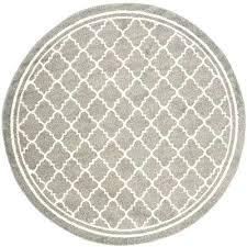 9 round area rug dark gray beige 9 ft x 9 ft indoor outdoor round 9 9 round area rug