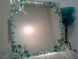 Decorating Bathroom Mirrors 17 Best Images About Diy Mirror On Pinterest Plastic Spoons