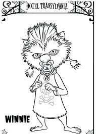 hotel 2 coloring pages get transylvania to print