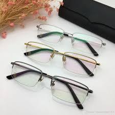 Inexpensive Designer Eyeglasses 8201020 Eyeglasses Frame Women Men Brand Designer Eyeglass Frames Designer Brand Eyeglasses Frame Clear Lens Glasses Frame Oculos With Case